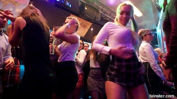 Секс вечеринки в ночном клубе видео